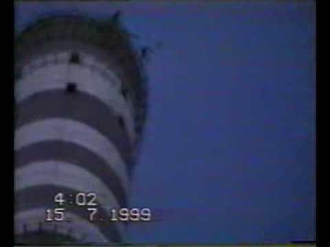 Углегорская ТЭС. Base-jump. 15 июля 1999г.