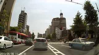板橋区蓮根駅前→17号線→志村坂上駅前→板橋区役所前駅前