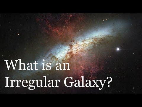What is an Irregular Galaxy?