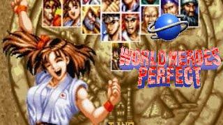 World Heroes Perfect playthrough (SEGA Saturn)