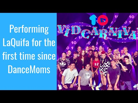 Performing LaQuifa for the first time since DanceMoms | Nia Sioux