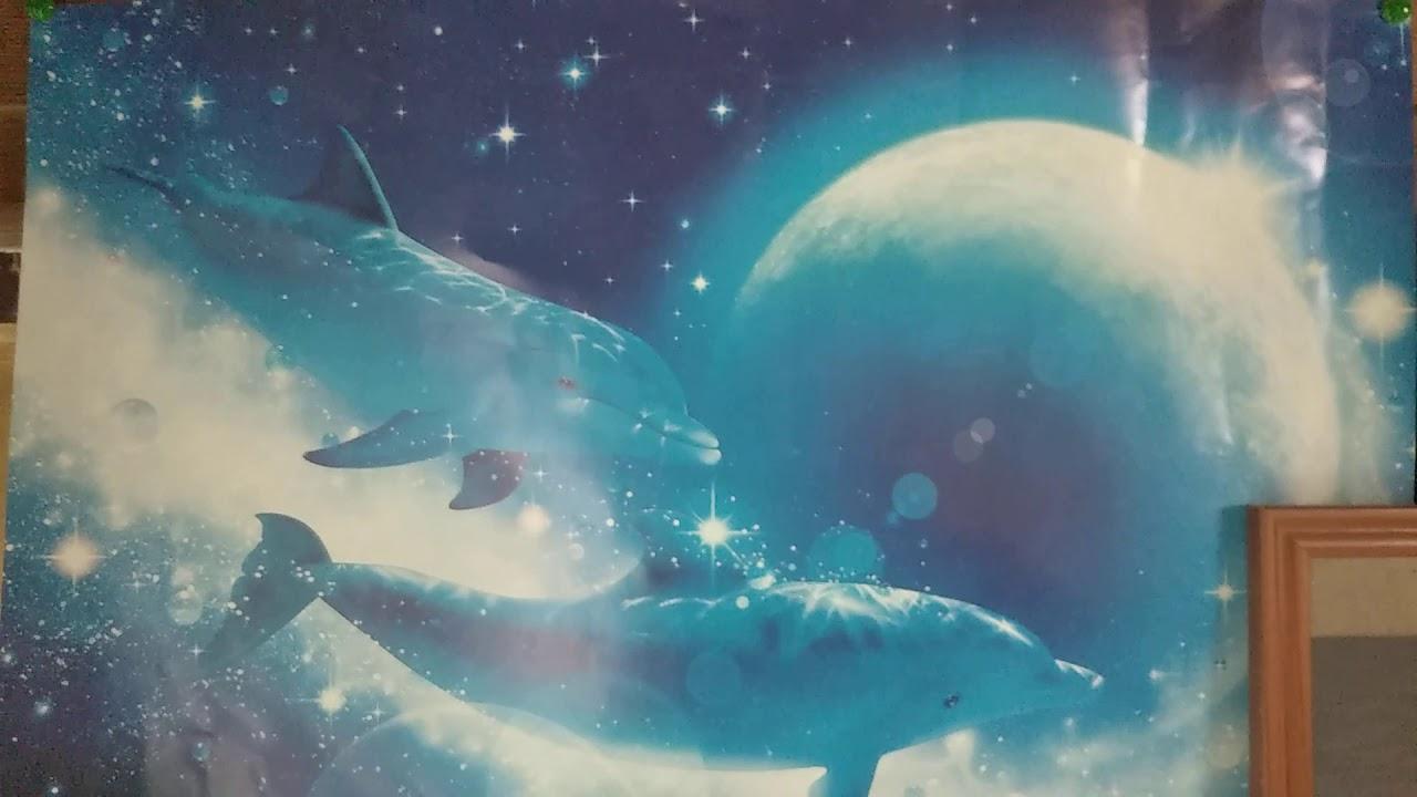 ラッセンのポスターとスターウォーズの絵