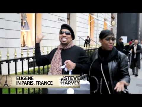 Shopping in Paris with Eugene from The Steve Harvey Morning Show