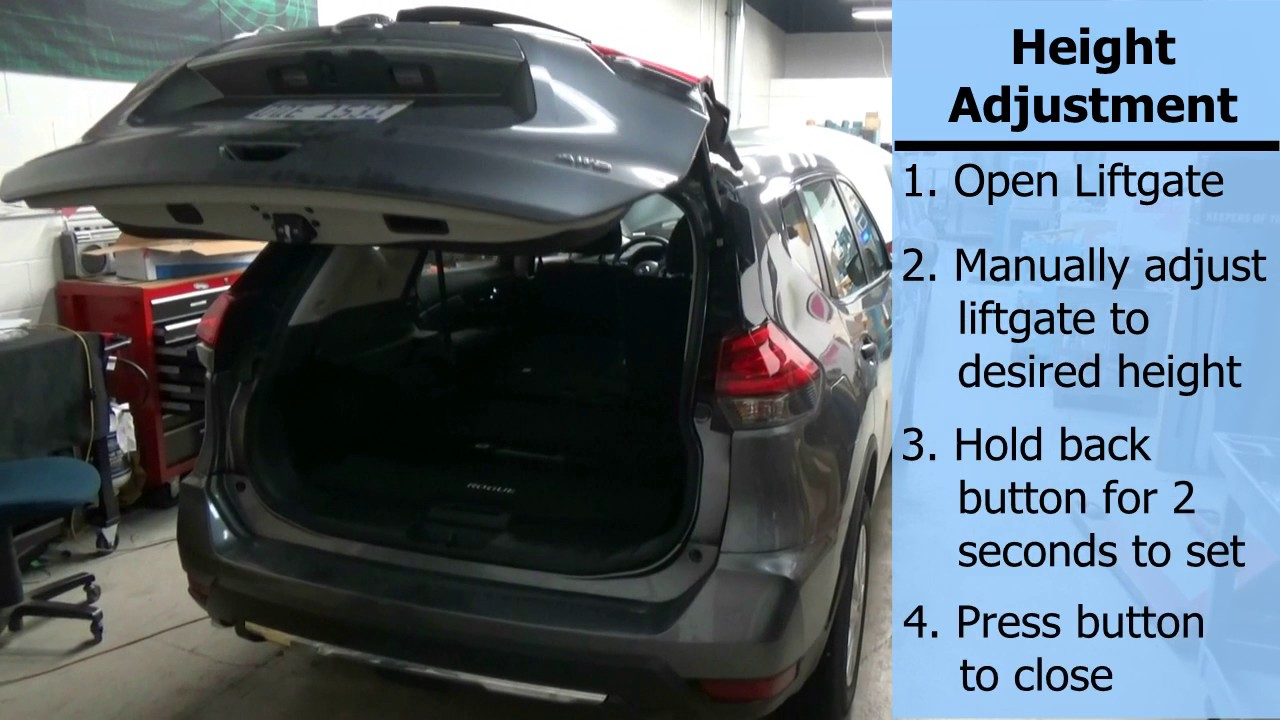 Advent Liftgate For Nissan Rogue Operation And Height