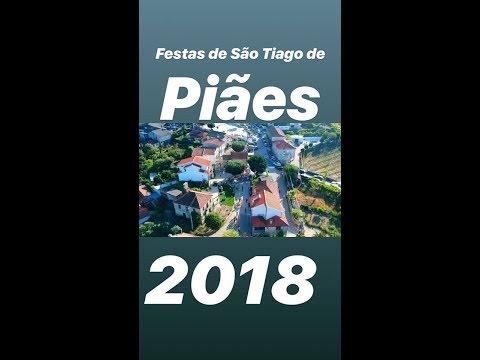Festas de São Tiago de Piães, Cinfães 2018