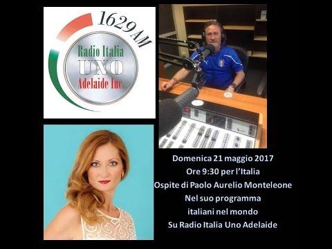 Intervista su Radio Italia Uno Adelaide