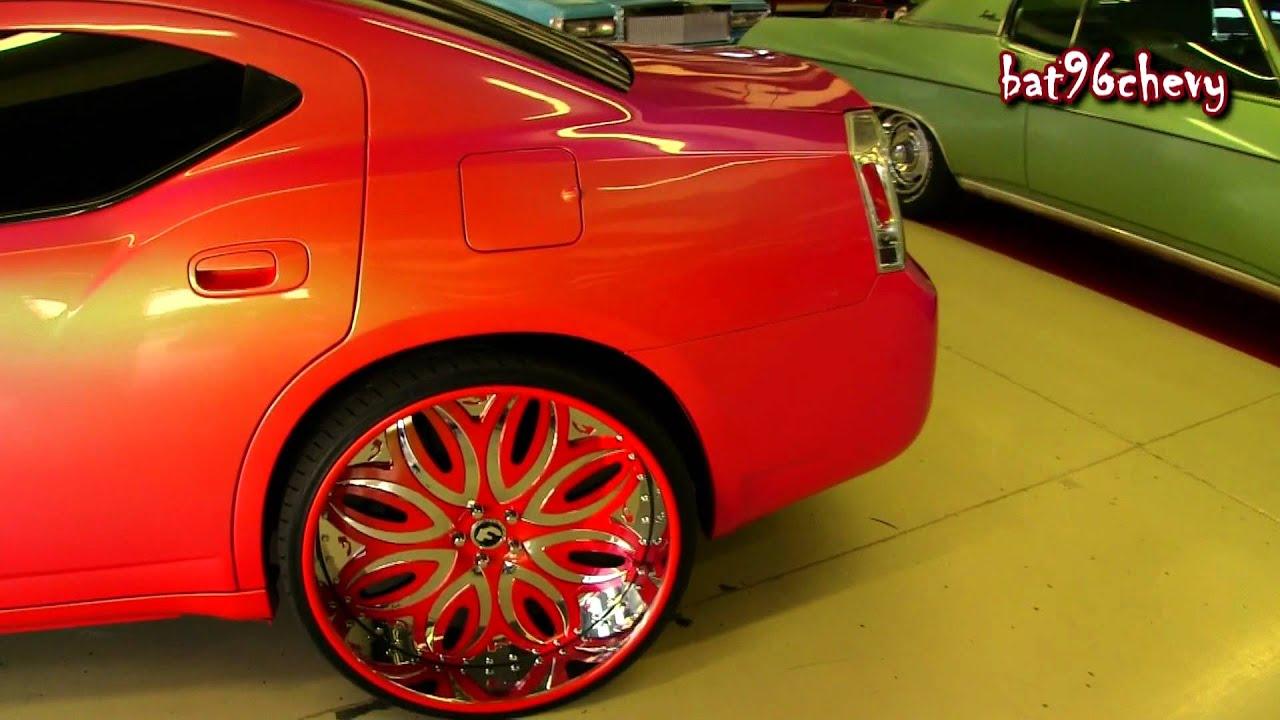 OUTRAGEOUS Dodge Charger on 26 Forgiato Giordano Rims