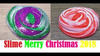 DIY 2 Ways Slime Christmas 2018