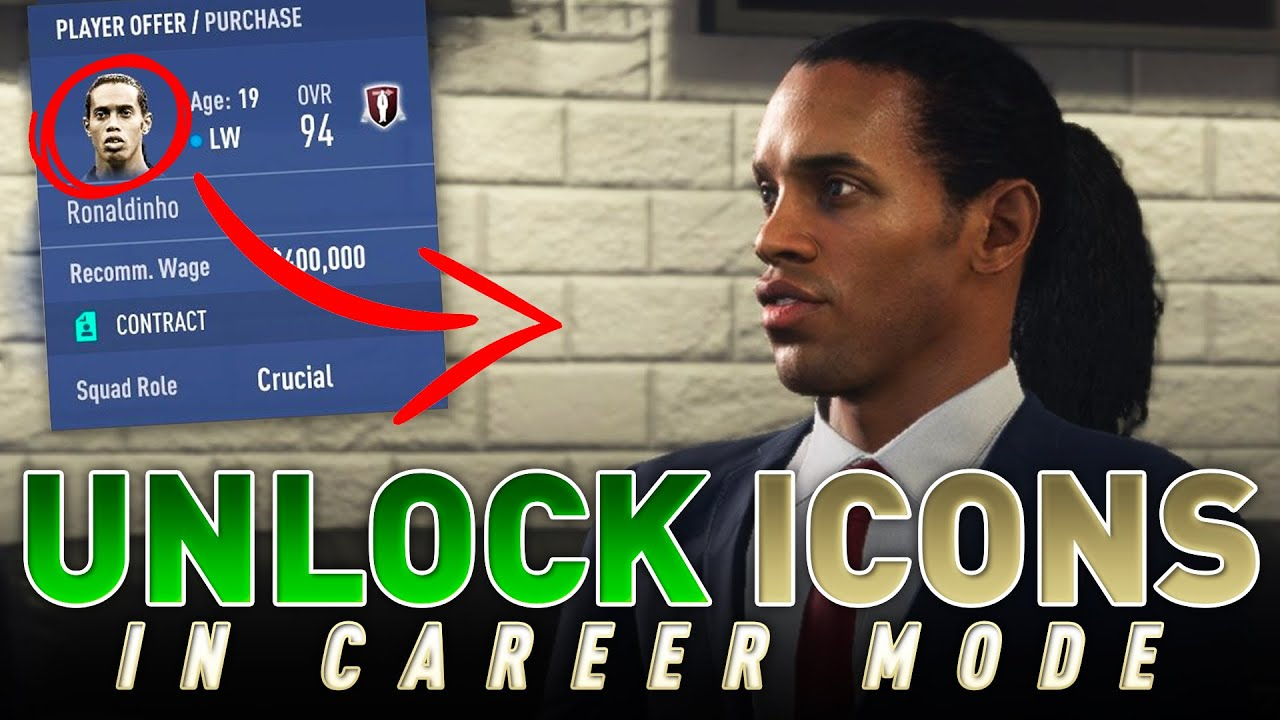 How to Unlock Icons in FIFA 19 Career Mode (PC Only)