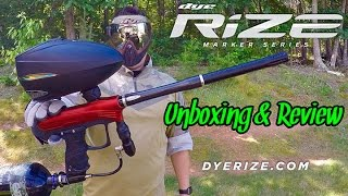Spanky from Team WCP is doing the Unboxing & Review of the DYE RIZE...