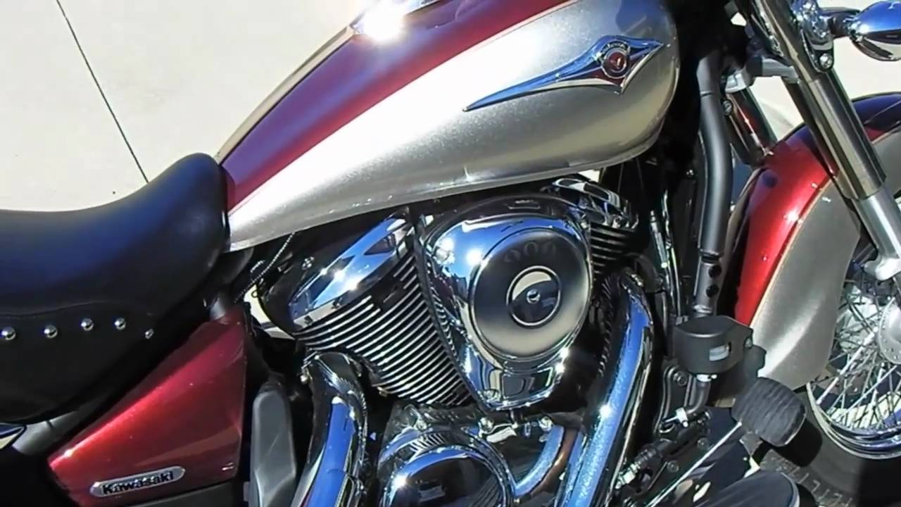 2009 kawasaki vulcan 900 classic lt review - youtube