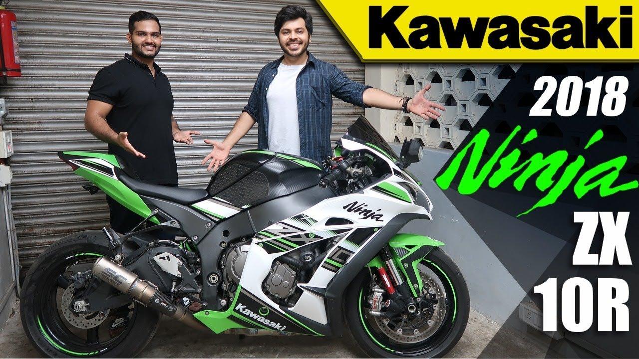 Kawasakizx10r Cheapest 1000cc Ss Bike In India Kawasaki Ninja Zx10r Living With It Ep No14
