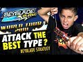 Beyblade Burst World Tour Strategy : Attack the Best Type?  How to Win at Beyblades!