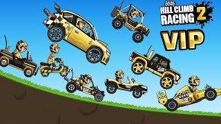 VIP Hill Climb Racing 2 -  All vehicles - FULLY Upgraded VIP
