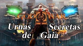 God of War 2 Urnas secretas de energia e magia