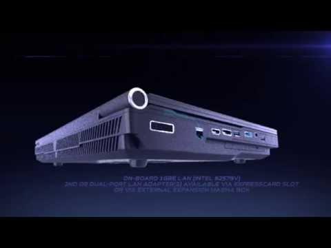 12 core Intel Xeon powered EUROCOM Panther 5SE Mobile Server