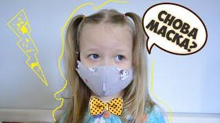 Как сшить маску для лица детям в период гриппа и короновируса