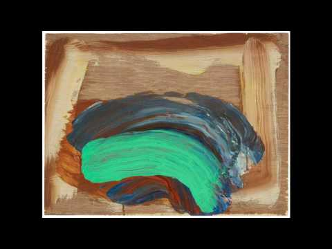 Howard Hodgkin 霍華德·霍奇金 (1932) Abstract Expressionism Contemporary British