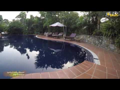 Spring Valley Resort   Kep Province   Cambodian Tourist Place  (Source From Bee TV)