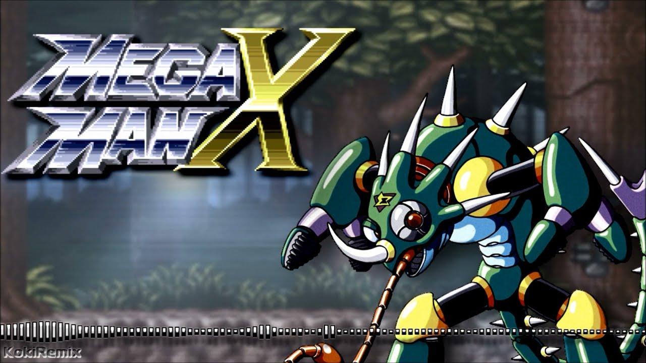 Mega Man X Sting Chameleon Stage Theme Remix