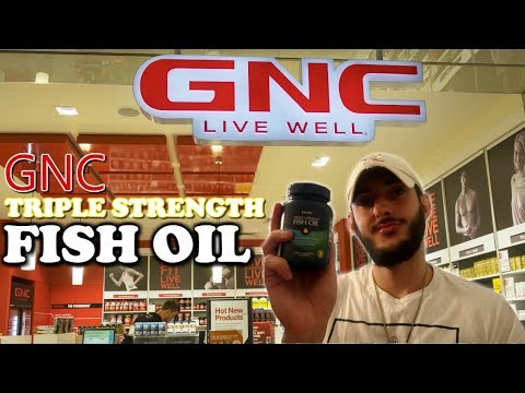 GNC Triple Strength Fish Oil | Omega 3 Fish Oil | GNC Product
