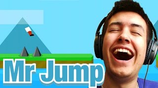 Mr Jump - MOST ADDICTIVE GAME EVER! - The New Flappy Birds?! MR JUMP FUN!