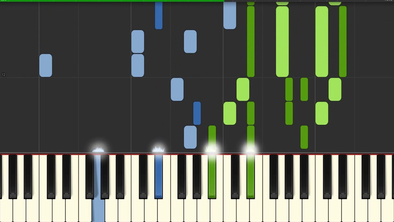 Londonderry Air O Danny Boy Piano solo | Piano Tutorial for Synthesia