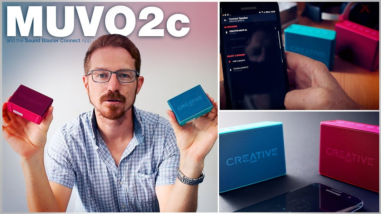 Creative MUVO 2c Review, How to Use the Sound Blaster Connect App