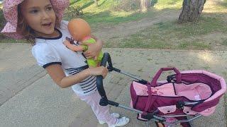 Video Oyuncak çocuk arabasında baby alive ve nenuco bebek ile parkta gezinti download MP3, 3GP, MP4, WEBM, AVI, FLV November 2017