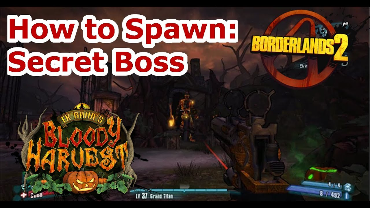 official shop fashion style amazing price Secret Boss! Clark The Combusted Crypt Keeper! Borderlands 2: T.K Baha's  Bloody Harvest!