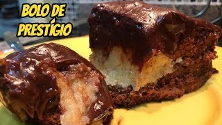 Pão de ló de Chocolate com Recheio de Prestígio