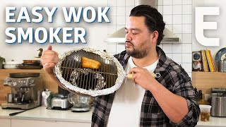 How to Turn Your Wok into an Indoor Smoker - You Can Do This!