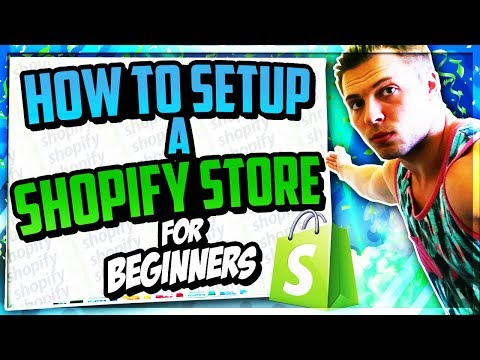 Setting Up A $100K A Month Shopify Store In 2018 Step By Step (Part 1 )