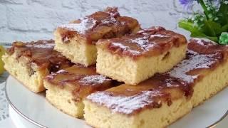 Вкусный пирог с яблоками Перевёртыш Пирог с карамельными яблоками и орехами