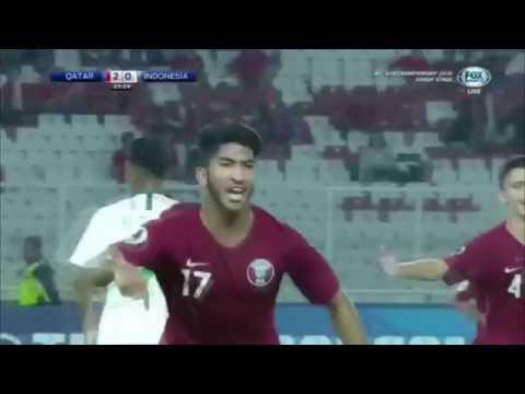 Qatar Vs Indonesia 6-5 ● Highlights Goals AFC U19 Indonesia 2018
