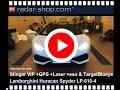 Detecteur de radar et brouilleur laser Stinger VIP Lamborghini Huracan Spyder LP610 4