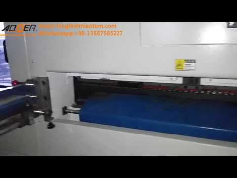 AEM 1650S automatic platen press die cutting and creasing machine