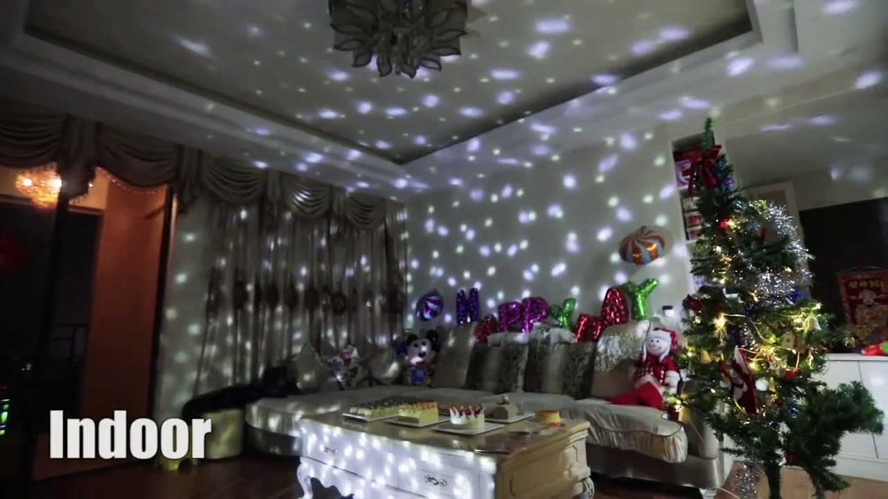 window wall wonderland projector the ultimate christmas decoration - Christmas Decoration Projector