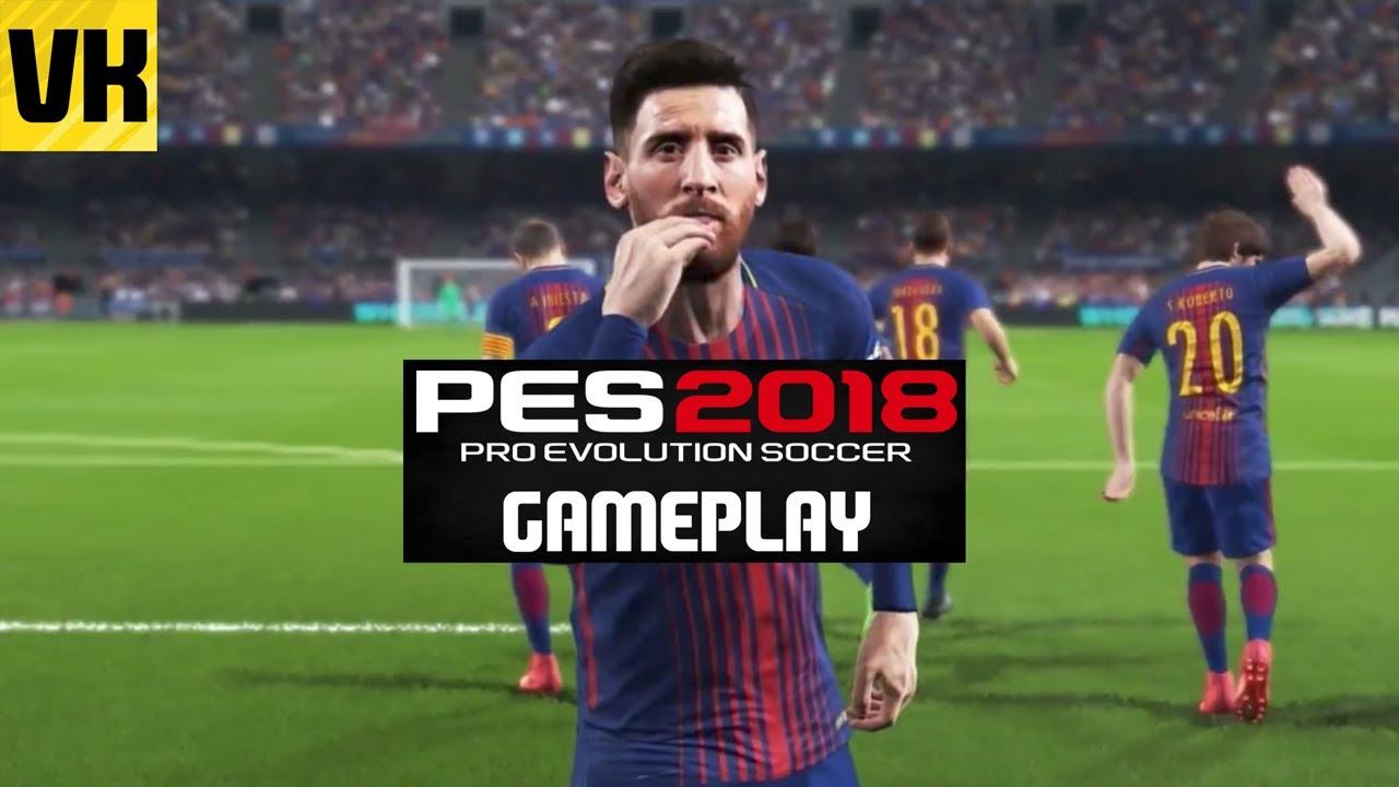 pes 2018 gameplay atletico madrid vs barcelona ps4. Black Bedroom Furniture Sets. Home Design Ideas