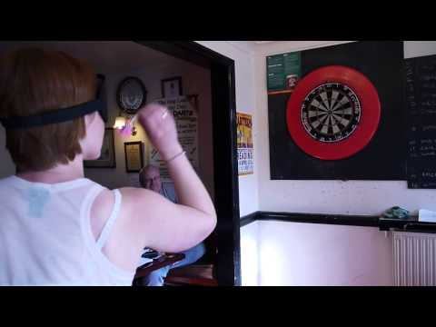 Blindfold Darts Challenge 16th March 2013
