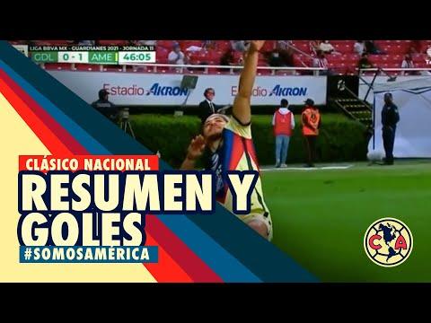 RESUMEN y GOLES Clásico de Clásicos Chivas 0-3 América