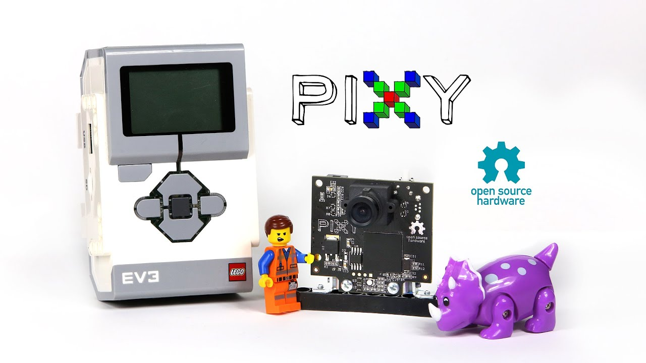 Pixy for LEGO Mindstorms – PixyCam