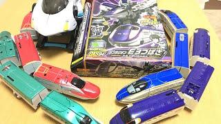 プラレール変形ロボ シンカリオン E3つばさ DXS4 電車 新幹線 おもちゃ タカラトミー/シンカギアにセット!リンク合体