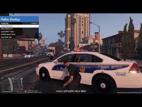 GTA V - LSPDFR - Showdown in the Streets