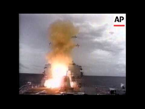 WORLDWIDE: DESTROYER USS COLE AT SEA: FILE