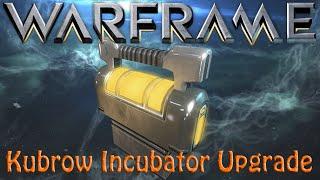 Warframe - Kubrow Incubator Upgrade Segment