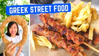 GREEK STREET FOOD tour in ATHENS, GREECE | Mouthwatering SOUVLAKI | Amazing GREEK FOOD