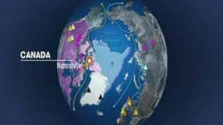 Mit offenen Karten Flaggen auf dem Meeresgrund