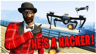 This Angry Griefer Thinks I'm a Hacker on GTA 5 Online (Ragequits)