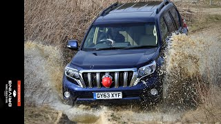 Driving brought together the Toyota Land Cruiser and Mitsubishi Sho...